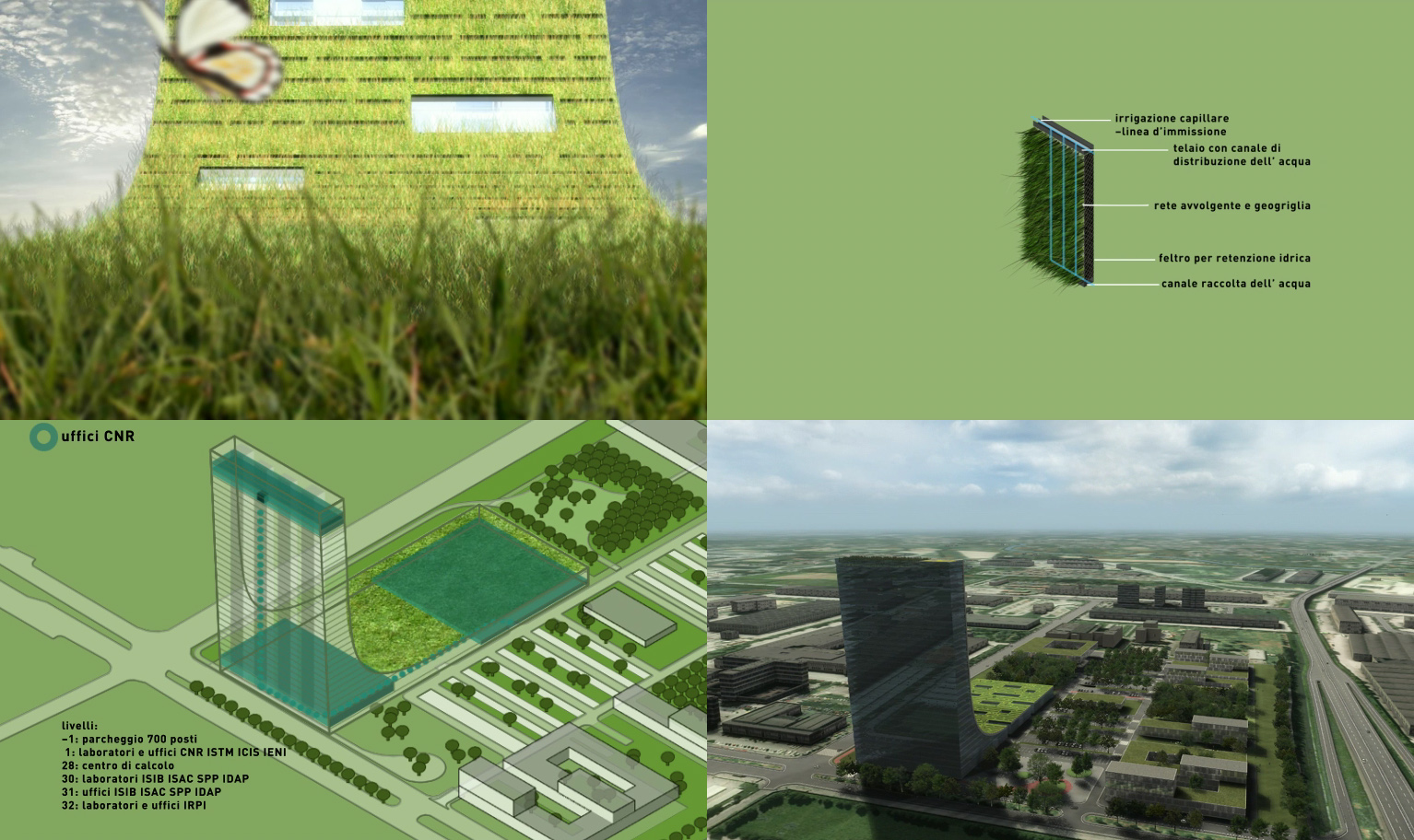 Attu studio progetti torre per la ricerca z i p for Progetti per la vendita